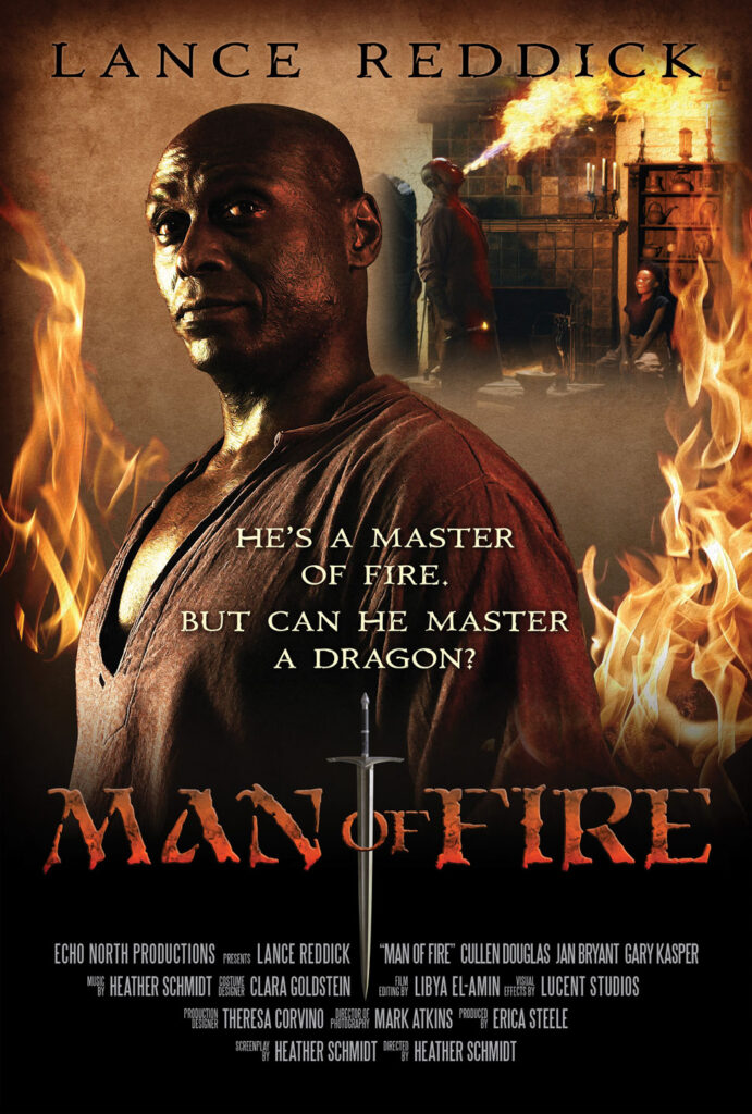 Man of Fire poster