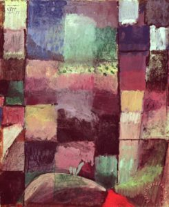 Klee, Composition 1914